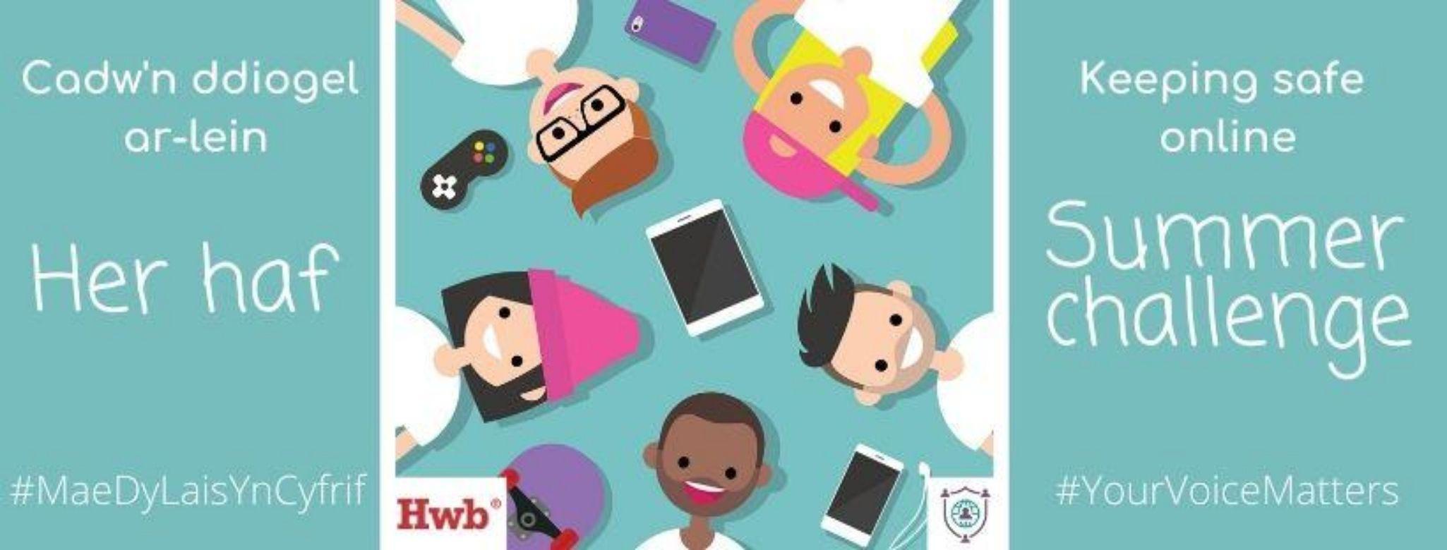 Keeping safe online summer challenge