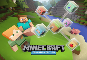 Minecraft title image